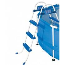 Escada Para Piscina Inflável Bel Life 3 Degraus Premium 91