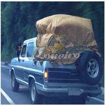 Lona 5x4 Encerado Algodão Para Caminhão Toco Truck Vinil C4