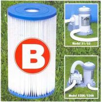 Refil Filtro Cartucho B Intex Bomba Filtrante 9462 L/h