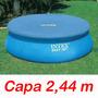 Capa Proteção 244 Cm Intex Piscina Inflável 2,44 M Original