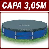 Capa Tampa De Cobertura P/ Piscina 3,05m Estrutural - Intex