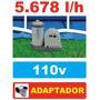 Bomba Filtrante Piscina Intex 5678 Lh 110v + Par Adaptador B