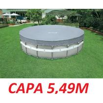 Capa Piscina Intex Estrutural 5,49 M 549 Cm 24.311 L 24.310