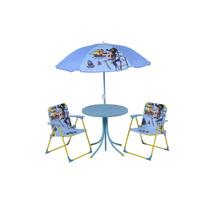 Conjunto Infantil Pirata Jardim Mesa + Cadeira + Guarda-sol