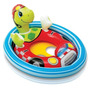 Baby Bote Minha Primeira Bóia Tartaruga Inflável Bebê Intex