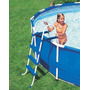 Escada Para Piscina Intex 76 91 Cm De Altura Original