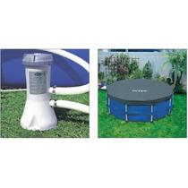 Bomba Filtrante Piscina Intex 2006 L/h 110v Capa 3,05 E 4485