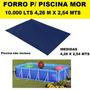 Forro Piscinas Retangular 10.000l Premium Mor 4,26 X 2,54m