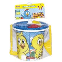 Conjunto Brinquedo Praia Pintinho Amarelinho Novabrink