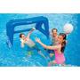 Trave Inflável De Polo Aquático Futebol Intex Piscina 58507