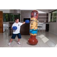 João Bobo Inflável Luvas Boxe Boneco Saco Pancada Brinquedo