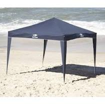 Tenda/barraca/ Praia 3 X 3 Camping Branca/azul