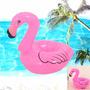 Boia Inflável Para Latas Flutuador Piscina Flamingo Celular