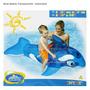 Baleia Inflavel Transparente Para Piscinas - Importado