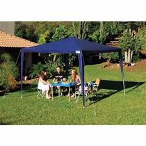 Tenda/barraca/ Gazebo 3 X 3 Praia/camping Azul Frete Gratis
