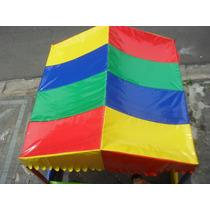 Telhado ( Cobertura) P/ Piscina De Bolinha 2.00 X 2.00 Mts