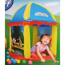Casinha Piscina Inflável Bebê Infantil 100 Bolinhas Disney
