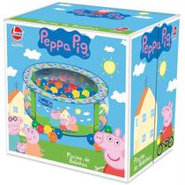 Piscina De Bolinha Peppa Pig C/ 100 Bolinhas Coloridas !!!