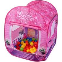 Barraca Infantil Da Barbie Com 50 Bolinhas 12 X Sem Juros