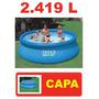 Piscina Intex Inflável 2419 Litros Com Capa 2420 3854 2300