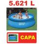 Piscina Intex 5621 Litros Com Capa 366 Cm 3,66 M Ñ 6734
