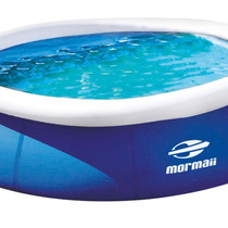 Piscina Redonda 2.600 Litros Azul/branco Mormaii - Promoção