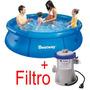 Piscina Inflável 2300 Litros + Filtro 110v - Bestway Intex