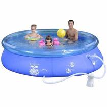 Piscina Mor Splash Fun 4600l Combo Filtro, Capa E Forro