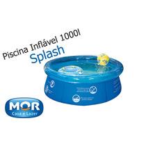 Piscina Vinil 1000 L Inflavel Playground Capa Infantil #jb80