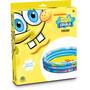 Piscina Inflável 102 Cm Do Bob Esponja Original Nickelodeon