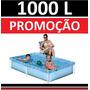 Piscina Vinil 1000 L Inflavel Playground Capa Infantil #a6tf