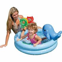 Piscina Golfinho Inflável Divertida Baby Brinquedos