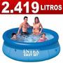 Piscina Inflável Easy Set Intex 2.419 Litros - Promoção Já