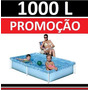 Piscina Vinil 1000 L Inflavel Playground Capa Infantil #k8se
