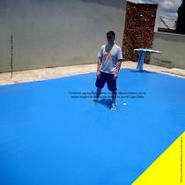 Capa De Piscina 300 Micra Proteção Suporta Peso 130 Kg 9x6 M