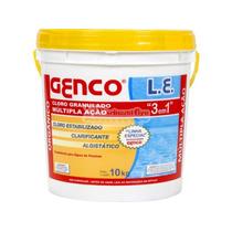 Cloro Granulado Para Piscina Genco (balde 10 Kg)