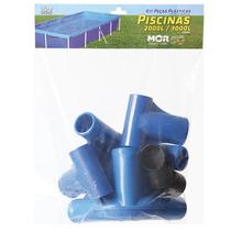 Kit Reposição Piscinas 2000l À 3000l Esquineiro Ponteiro Mor