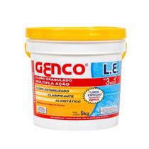 Cloro Para Piscina Genco(10 Kg) + Clarificante Genco(1 Lt)