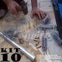 Instalação Capa Piscina Kit 10 Mola 10 Pino Bat Chave 1 Bóia