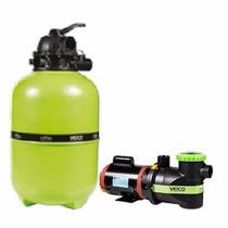 Kit Moto Bomba Bpf 3/4 Pre-filtro E Filtro V-40 Até 98mil L