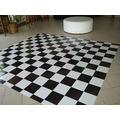 Pista De Dança - 2x3m - 6m² - Piso Xadrez Tapete Xadrez