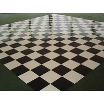 Tapete Xadrez 4x4 = 16 M2 !! Pista De Dança Grande !! Dj !