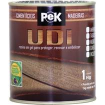 Pek Udi Incolor - Resina Madeira Cimenticio - Pisoclean