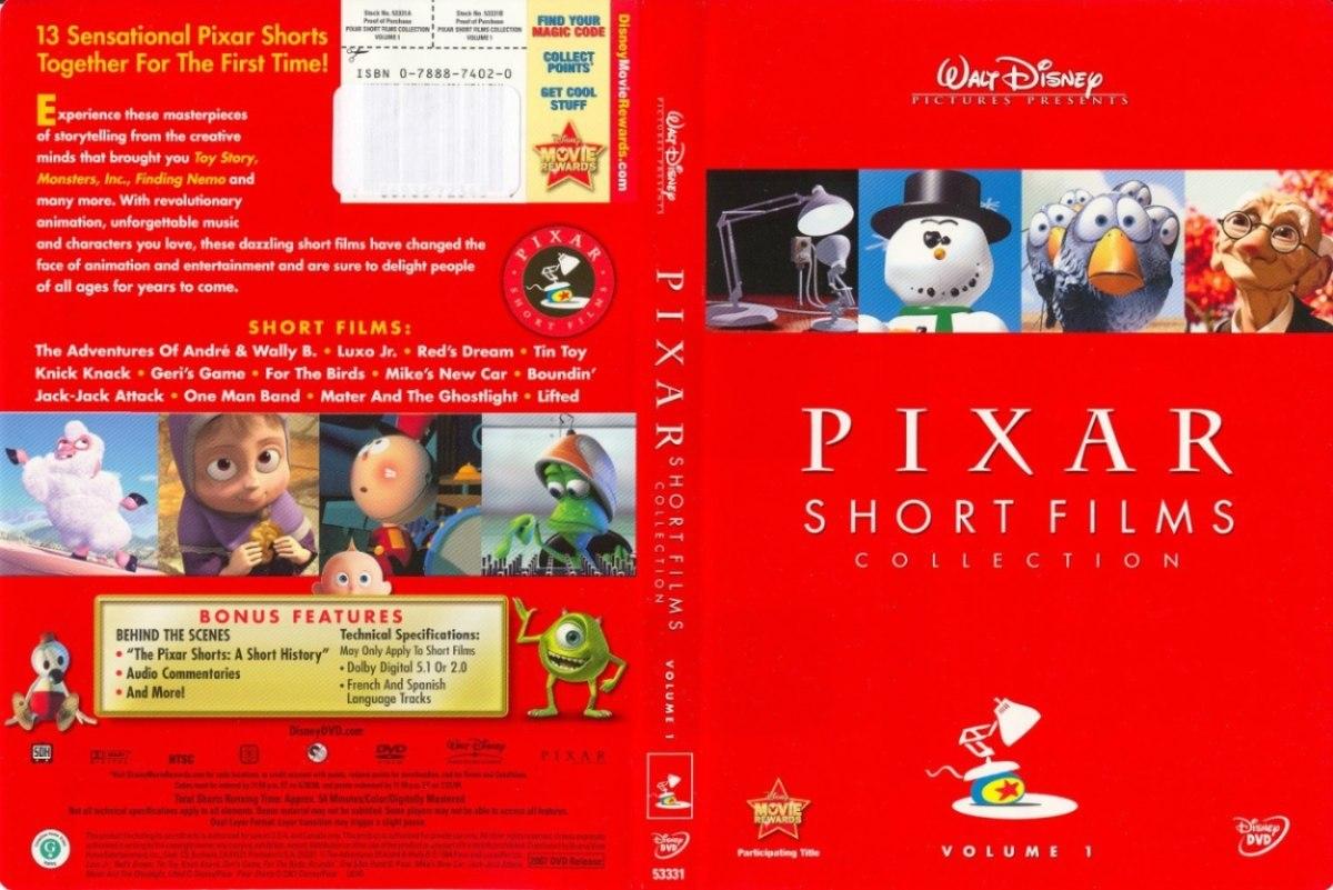 Pixar short films collection volume 1 dvd car interior for Inside 2007 movie online free