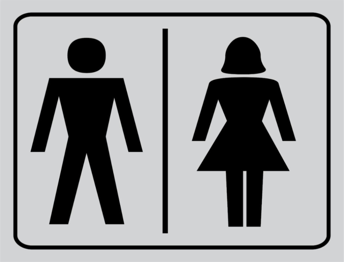 Tá Ligado  Tudo liberado meninos poderão usar banheiro feminino e vice -> Placa Banheiro Masculino Feminino Imprimir