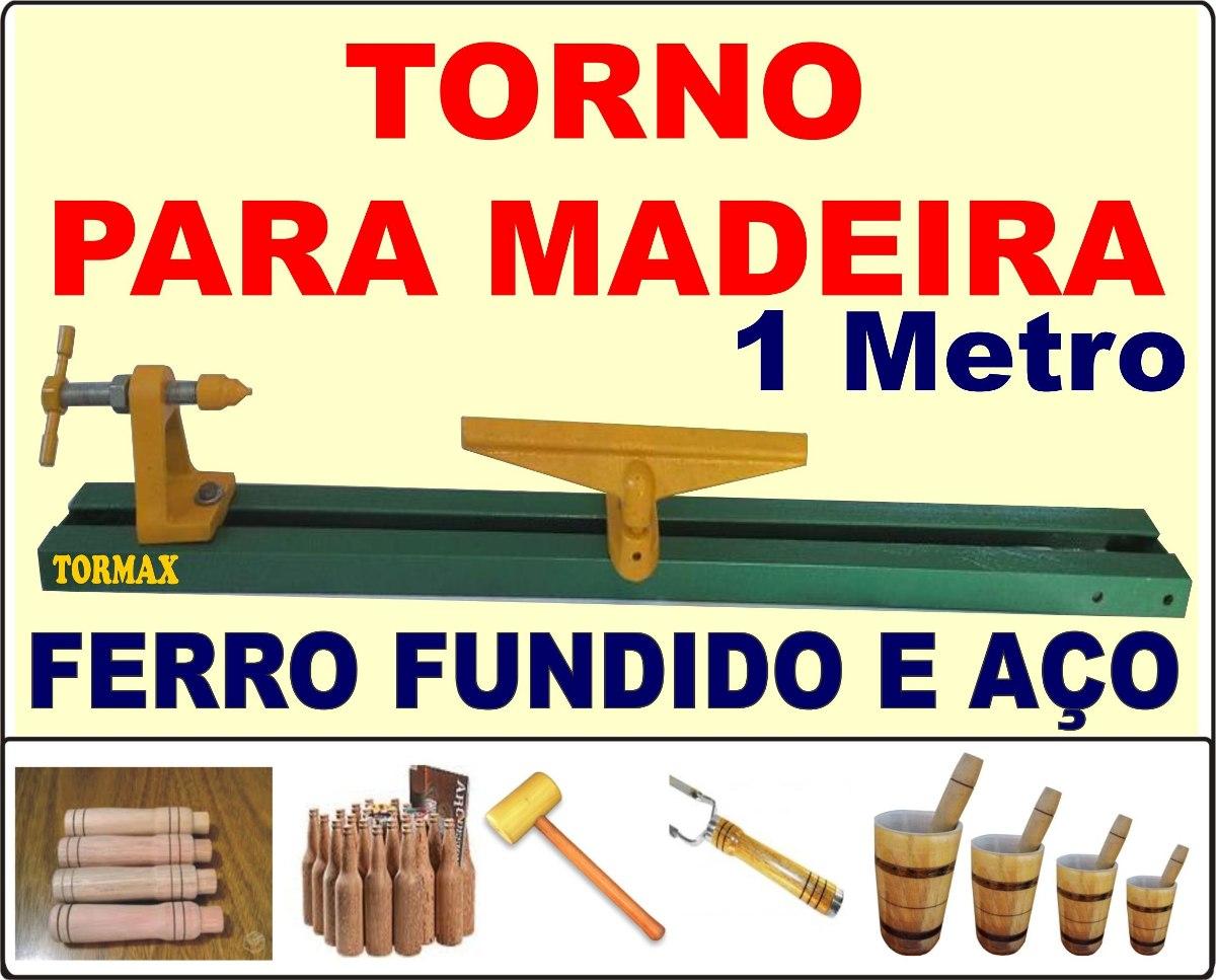 Placa Para Torno De Madeira 1 Metro R$ 349 00 no MercadoLivre #C70504 1200x967