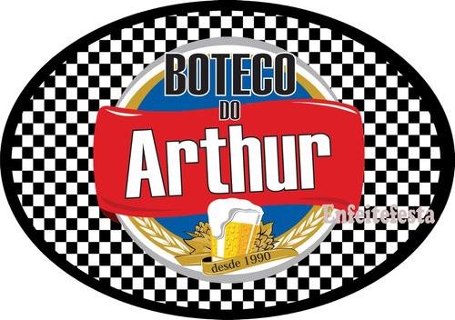 decoracao festa boteco personalizada:Placa Personalizada Bar Boteco Brahma Enfeite Parede Quadro – R$ 39,80