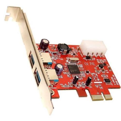 Placa Usb 3.0 5gb/s Pci-e Nec Com 2 Portas! Pci Express 1x