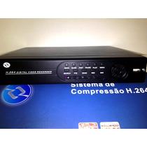 Dvr 8 Canais Sistema De Compressão H.264 D1 Vout Vga Hdmi
