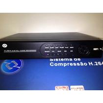 Dvr 4 Canais Sistema De Compressão H.264 D1 Vout Vga Hdmi
